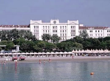 In Venice Hotel Des Bains At The Lido