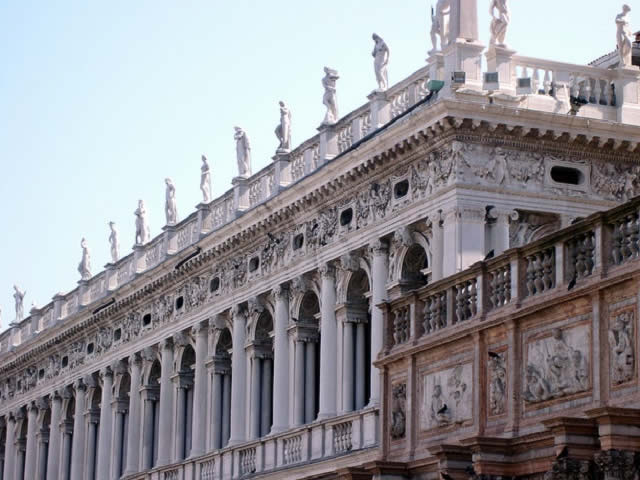 Image result for Basilica of San Marco in Venice the sasavino library