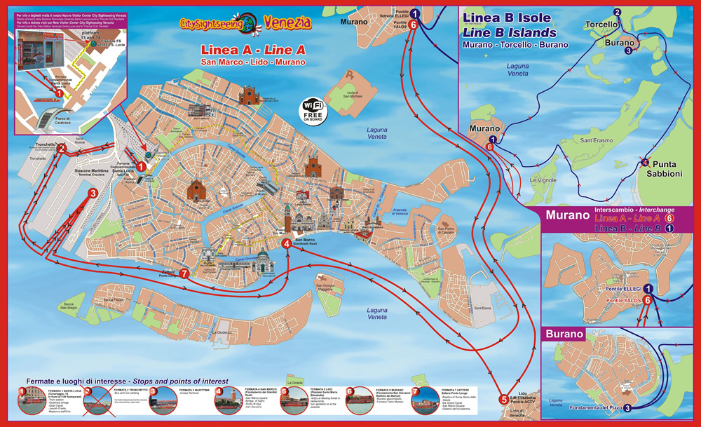 City Sightseeing Venice Italy Water Bus Tour | Tickets