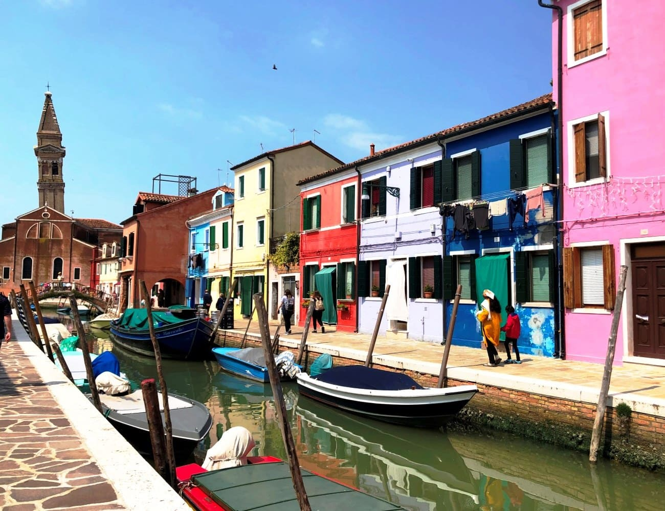 Murano To Burano.Half Day Tour To Murano Burano And Torcello Islands From St Mark S Area